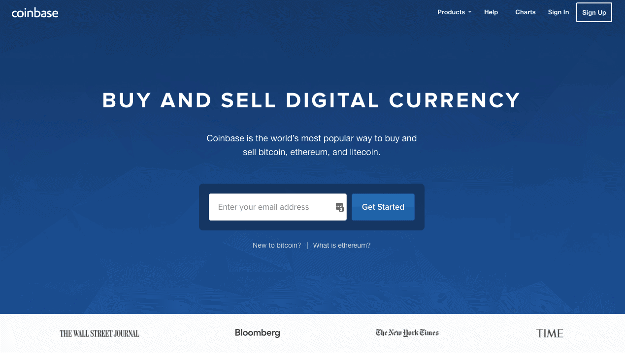 CoinBase-buy:sell digital currency